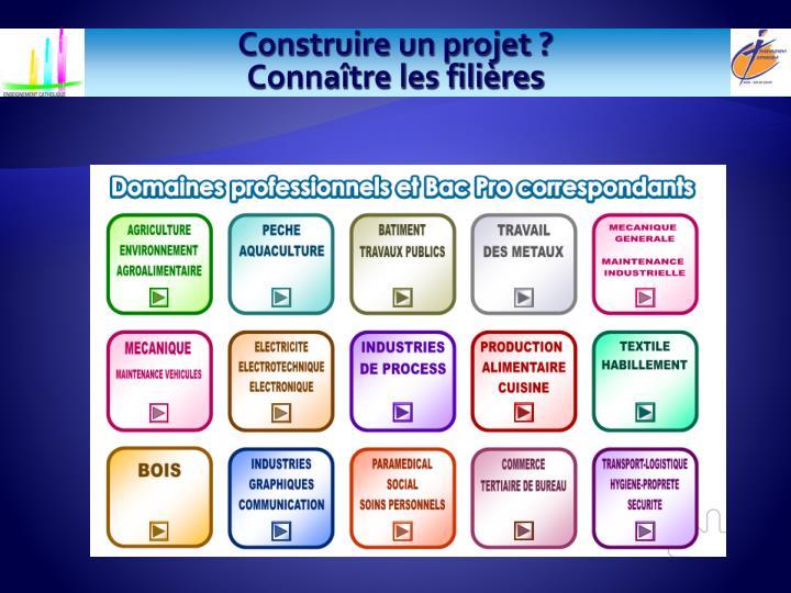 Construire un projet ?