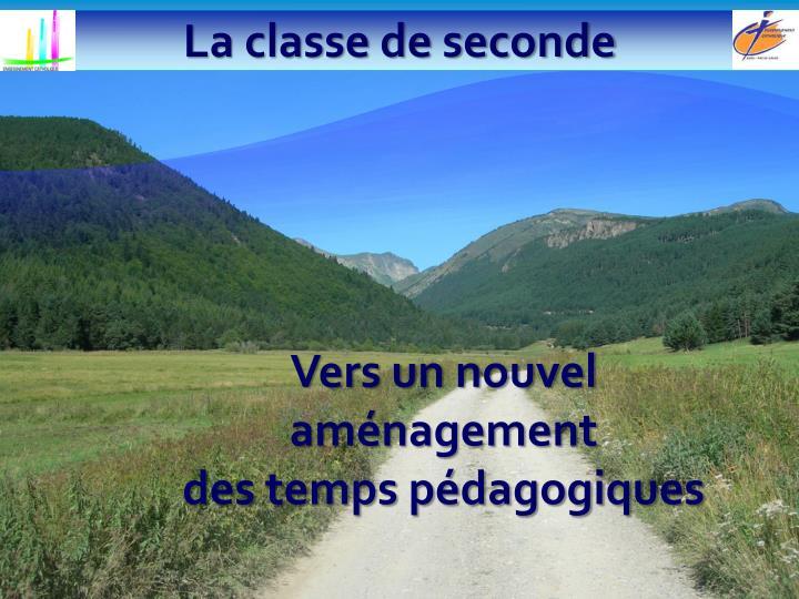 La classe de seconde