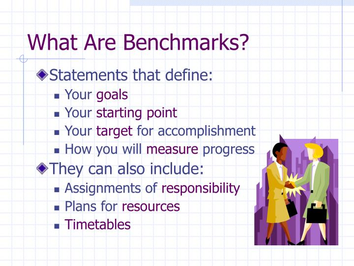 What Are Benchmarks?