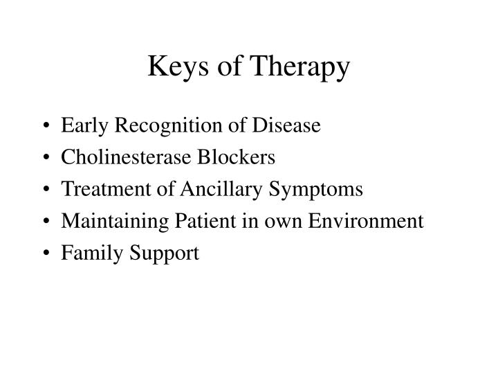 Keys of Therapy