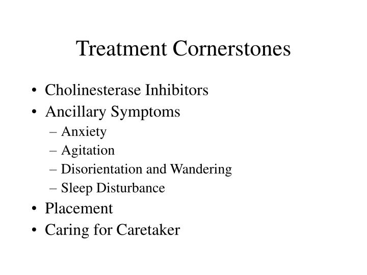 Treatment Cornerstones