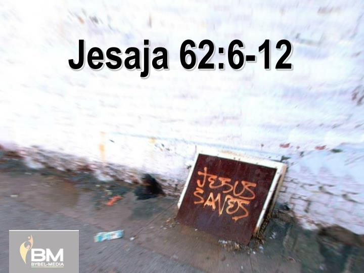 jesaja 62 6 12 n.