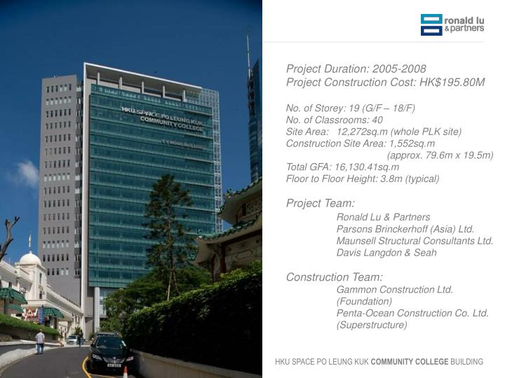 Project Duration: 2005-2008