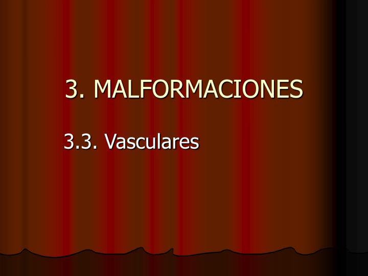 3 malformaciones n.
