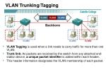 vlan trunking tagging