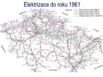 elektri zace do roku 1961