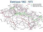elektrizace 1962 19731