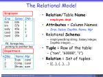 the relational model