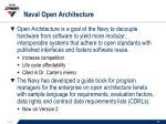 naval open architecture