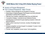ousd memo dtd 14 sep 2010 better buying power