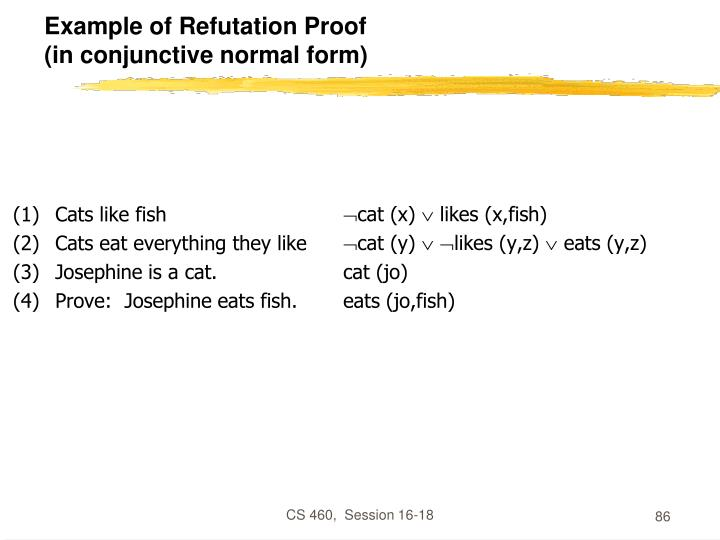 Cats like fish