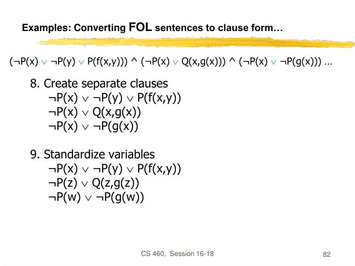 Examples: Converting
