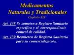 medicamentos naturales y tradicionales cap tulo xix