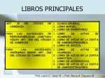 libros principales