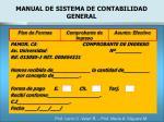 manual de sistema de contabilidad general