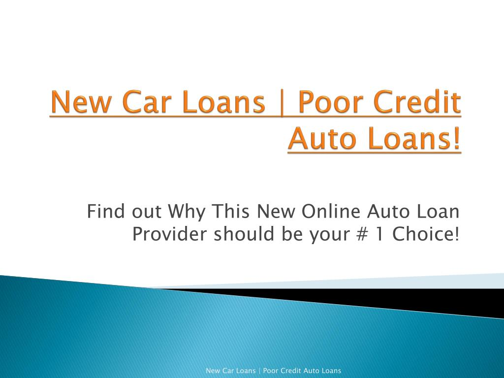 PPT - New Auto Loans
