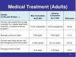 medical treatment adults