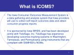 what is icoms