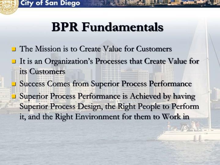 BPR Fundamentals