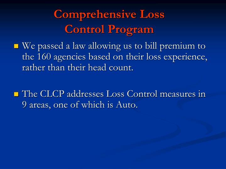 Comprehensive Loss   Control Program