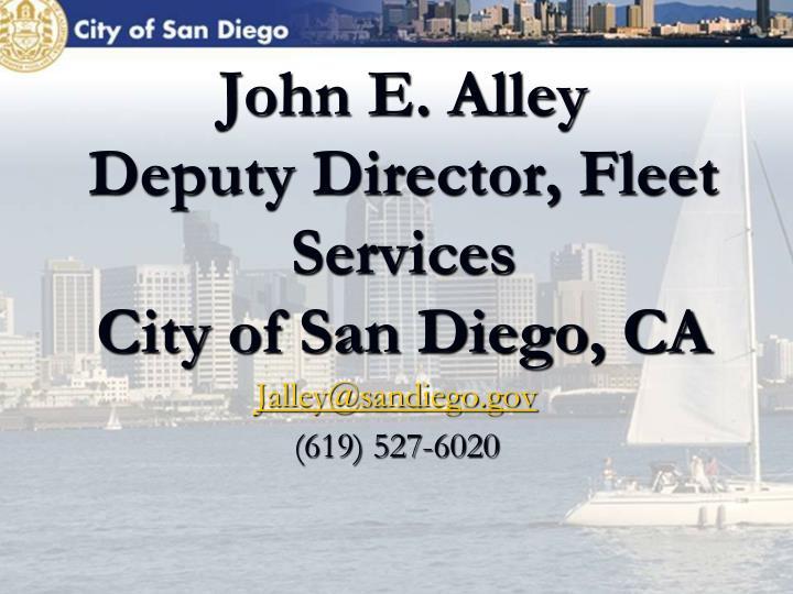 John E. Alley