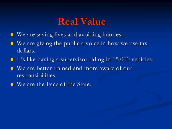 Real Value