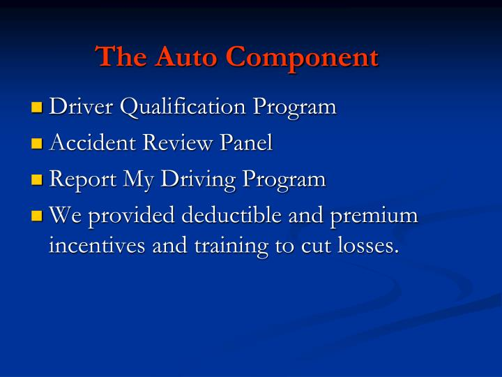 The Auto Component