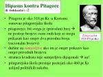hipasus kontra pitagore ili dodekaedar i