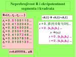 neprebrojivost r i ekvipotentnost segmenta i kvadrata