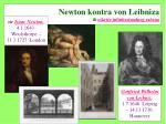 newton kontra von leibniza ili otkri e infinitezimalnog ra una