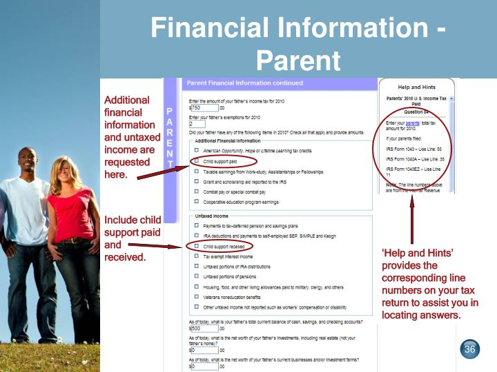 Financial Information -