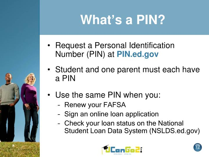 What's a PIN?