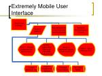 extremely mobile user interface1