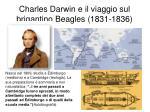 charles darwin e il viaggio sul brigantino beagles 1831 1836