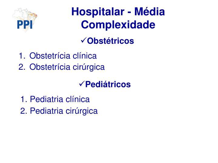 Hospitalar - Média