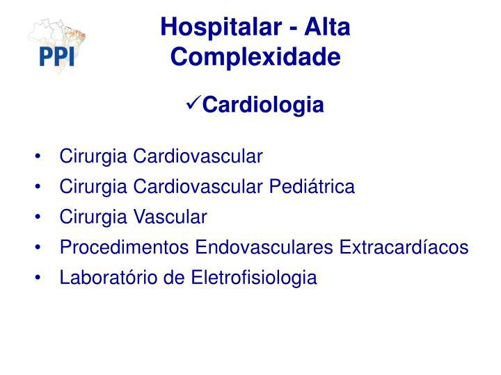 Hospitalar - Alta