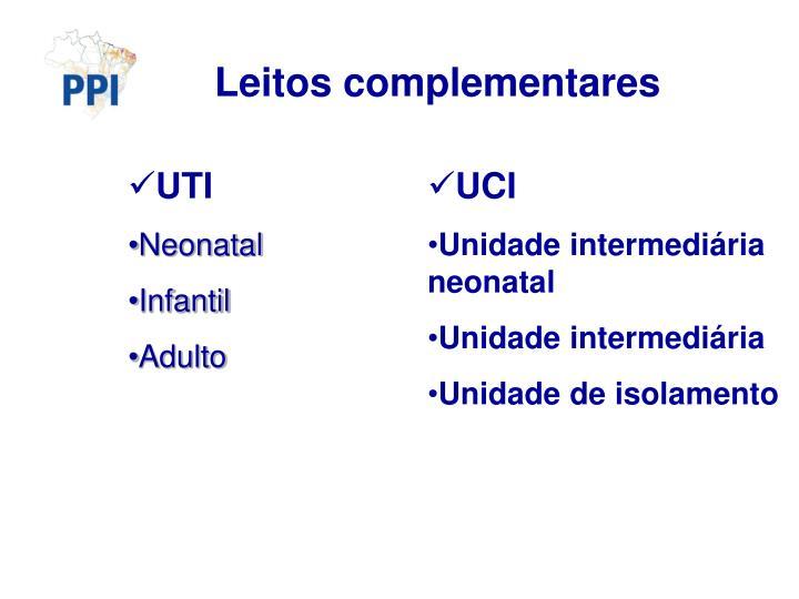 Leitos complementares