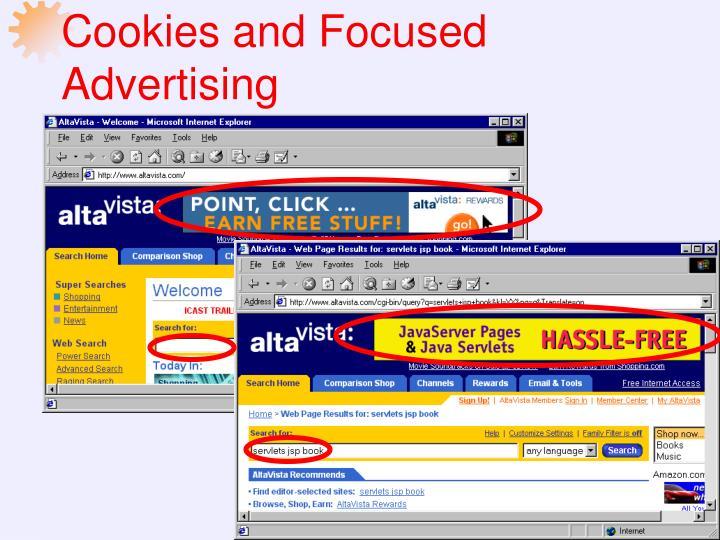 Cookies and Focused Advertising