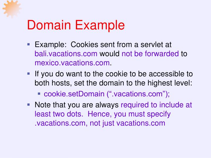 Domain Example