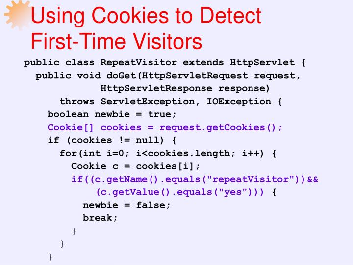 Using Cookies to Detect