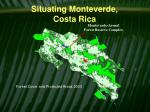 situating monteverde costa rica