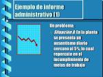 ejemplo de informe administrativo 1