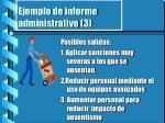 ejemplo de informe administrativo 3