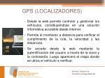 gps localizadores