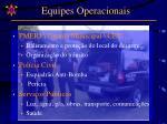 equipes operacionais