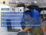 recursos materiais apc1