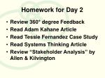 homework for day 2