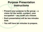 purpose presentation instructions1