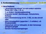 5 konkordatisierung konkordatsentwurf v 29 09 091