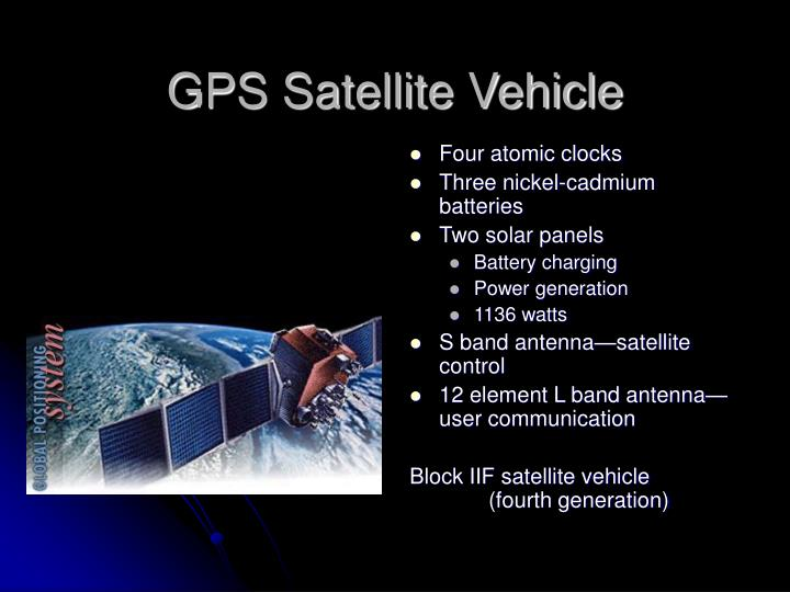 GPS Satellite Vehicle